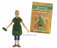 barista action figure with coffee cup accessories