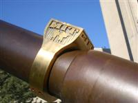 brass rat on caltech cannon