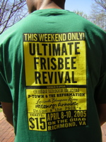 ultimate frisbee revival