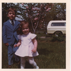 Tim and Esta, circa 1976.
