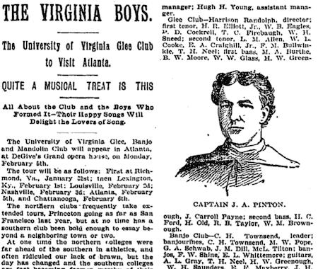 """The Virginia Boys,"" Atlanta Constitution, January 28, 1894, p. 24."