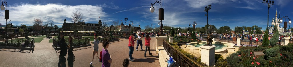 Disney World promenade